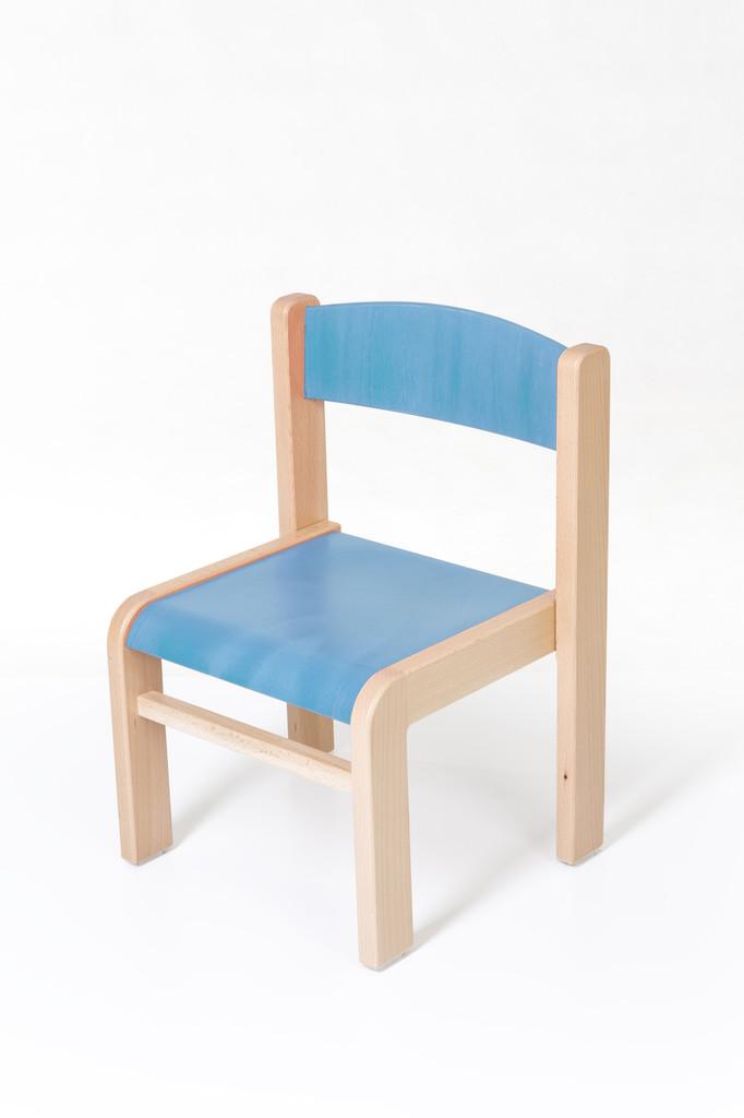 57f0091dec50 dětská židle LUCA modrá